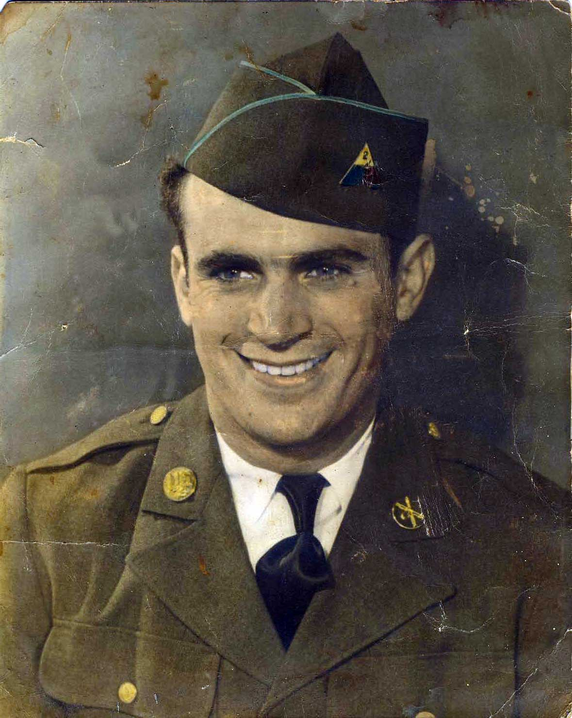Mac Klein, from NYC, in the Army -  WW2!